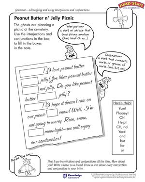 Interjection Worksheets. Worksheets. Ratchasima Printable