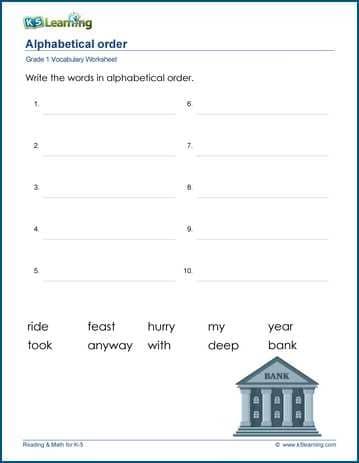 K5 Learning English Worksheets Grade 1 - Awesome Worksheet
