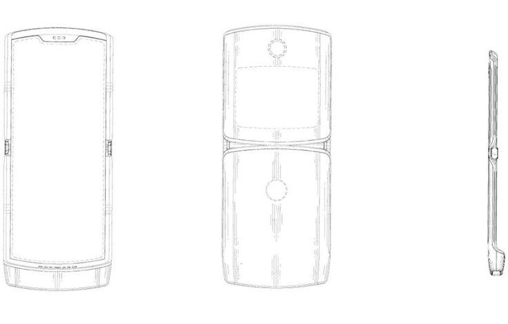 Motorola RAZR ze składanym ekranem może wyglądać właśnie