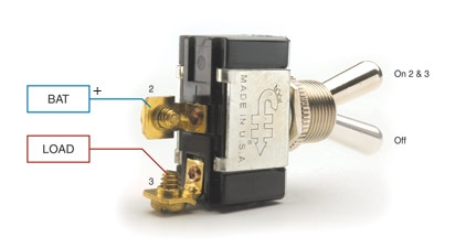 How To Wire Up A Rocker Switch