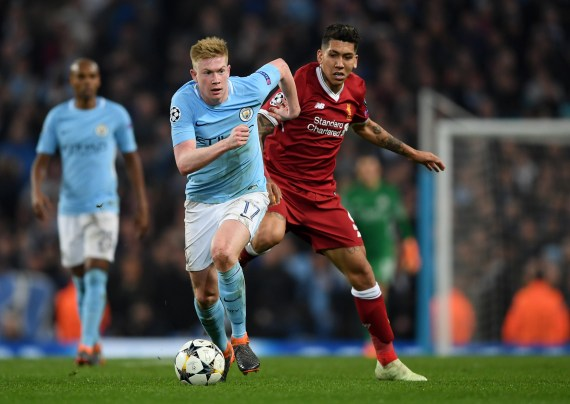 Image result for De Bruyne Anfield""