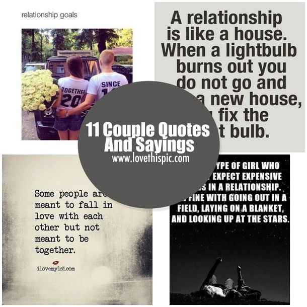 11 couple quotes and
