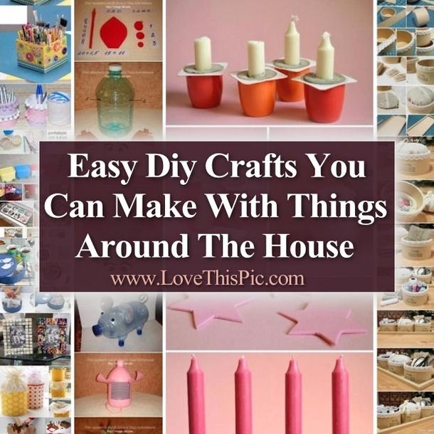 easy diy crafts you