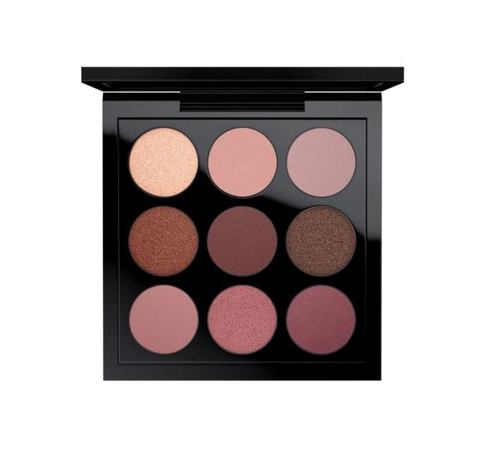 eye shadow x 9: burgundy times nine   mac cosmetics - official site