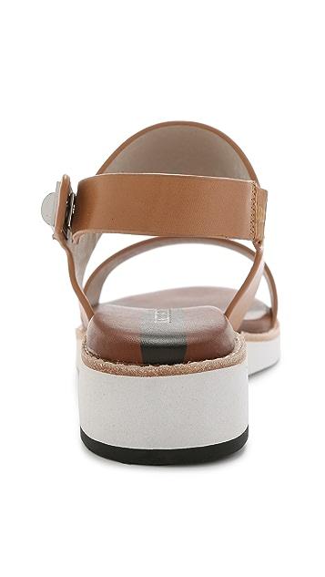 Matt Bernson Moderna Two Band Sandals   SHOPBOP