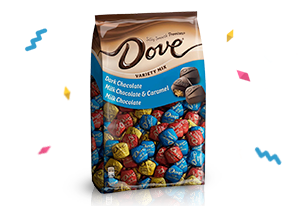 Save 35% on Dove chocolate with Alexa