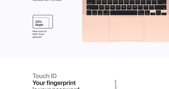 Touch ID, Your fingerprint is your password.