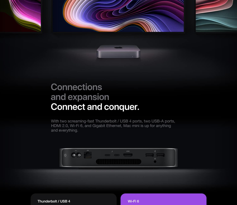 Mac mini with Apple M1 Chip