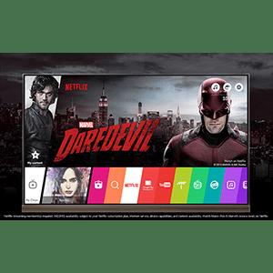 Netflix für LG OLED