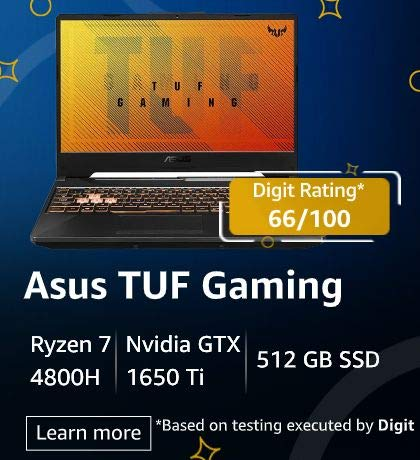 Gaming Laptop Deals on Amazon Great Indian Festival Sale 2020