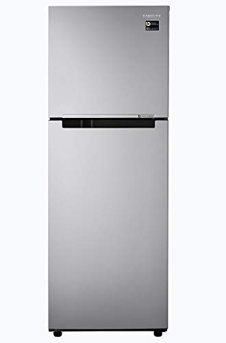 Samsung 253 L 2 Star Inverter Frost-Free Double Door Refrigerator (RT28A3032GS/HL, Gray Silver)