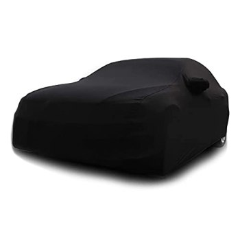 DSISI Car Cover Compatible with Aston Martin Rapide AMR, Velvet Stretch Cloth Car Covers, Special for Auto Beauty Shop Auto Show Slim Stretch Unveiling Cloth Lid