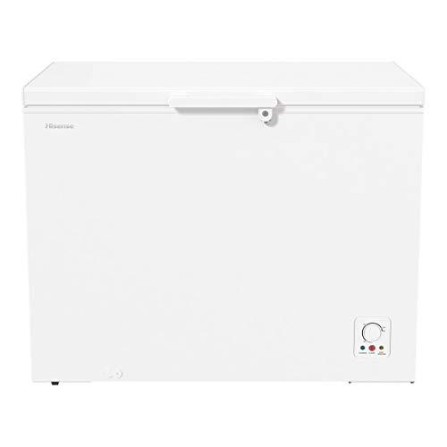 Hisense FC394D4AW2 Congelatore Orizzontale, 303 L, Bianco