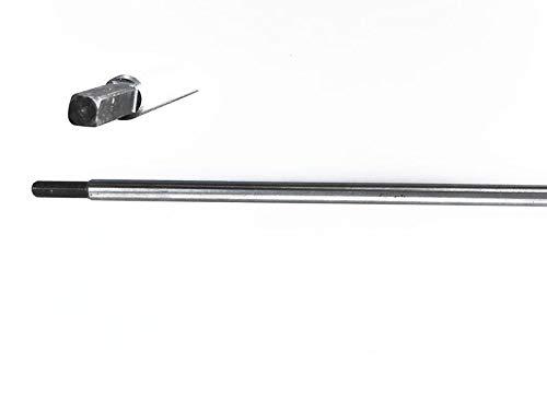Doctor Machine Asta di Trasmissione Quadra 6mm per Decespugliatore 52cc Lunghezza 1520mm Diametro...