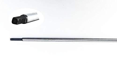 Doctor Machine Asta di Trasmissione Quadra 5,4mm per Decespugliatore 52cc Lunghezza 1520mm Diametro...