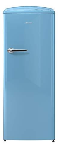 Hisense RR330D4AK2 Frigorifero Monoporta con comparto congelatore 4, 254 Litri, 40 Decibel, Azzurro