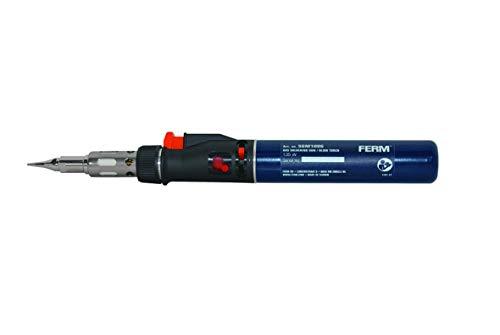 FERM SGM1006 Soldador de gas (Recargable - 35 min)