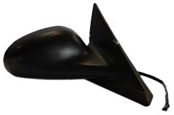 TYC 2540231 Compatible with Ford Mustang Passenger Side Power Non-Heated Replacement Mirror,Textured Black