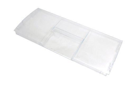 Beko 4331791700 - Coperchio del cassetto di plastica del congelatore del frigorifero, Trasparente, 445 x 190 x 20mm