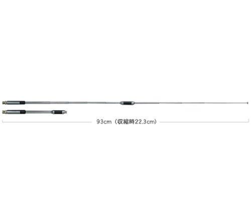 第一電波工業 ダイヤモンド  144/430MHz帯高利得2バンドハンディーロッドアンテナ レピーター対応 300MHz帯...