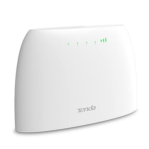 Tenda 4G03 Wi-Fi Router 4G LTE 300 Mbps, Banda...