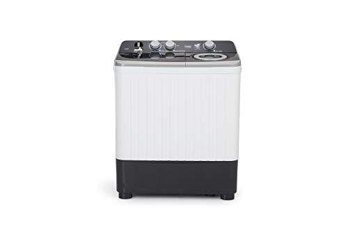 Haier 7 Kg Semi-Automatic Top Loading Washing Machine (HTW70-186S, Grey)