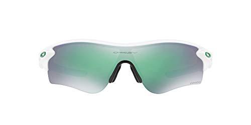 Oakley RADARLOCK Path (A) 9206 Gafas, POLISHED WHITE/PRIZMJADE, 38 Hombres