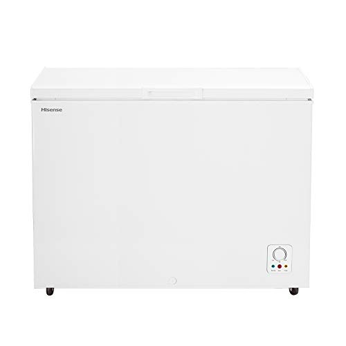 Hisense FC403D4AW1 Congelatore a Pozzo 306 L di capacit, Dimensioni (L x P x A) 112,5 x 67,5 x 83 cm, Colore Bianco