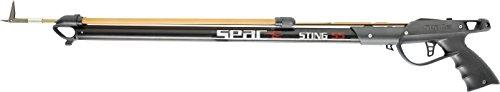 SEAC Sting, Fucile Subacqueo Arbalete da Pesca con Testata per Elastici Paralleli Unisex Adulto, Nero, 75 cm