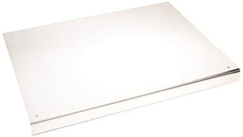 Acrylic Cutting Board for Kitchen with Lip, Non Slip cutting board (Clear Acrylic) by Wexbi, 24 x 18 inch