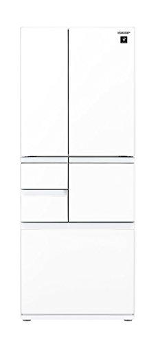 シャープ メガフリーザー 冷蔵庫 474L ピュアホワイト SJ-GT47D-W