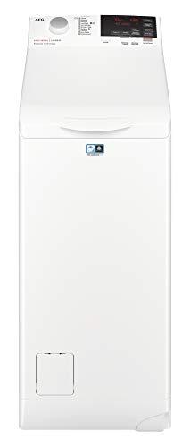 AEG L6TBG721 913123617 Lavatrice a Carica dall'Alto, 1200 Giri/min, LCD, 7 Kg, 56 dB, 40 x 60 x 85 cm, A+++, Bianco
