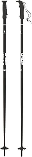Atomic,1 Paio di Bastoncini da Sci All-Mountain, Unisex, 115 cm, Alluminio, AMT, Nero, AJ5005622115