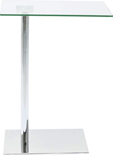 Kare Design Tavolino West Coast Argento, 67x34x50cm