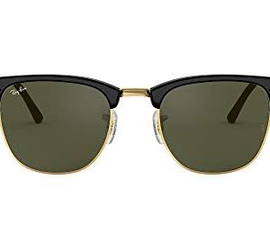 Ray-Ban Men's Rb3016 Clubmaster Square Sunglasses 6