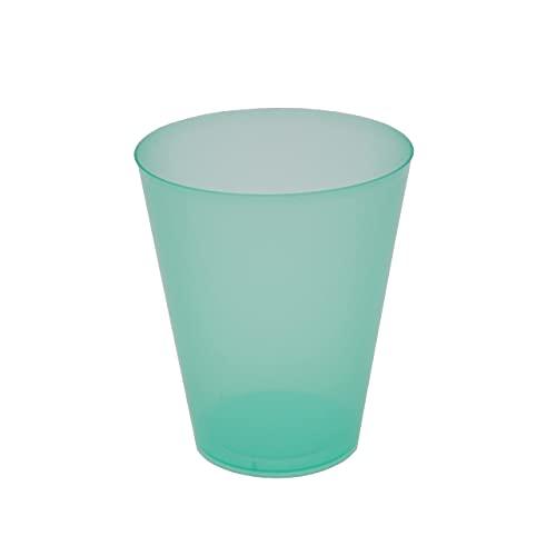 8around 25 Vasos plástico irrompibles flexible reutilizable