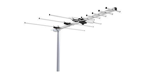 UHF VHF FM Outdoor Digital HDTV ATSC TV DTV Antenna - Quick Assembly