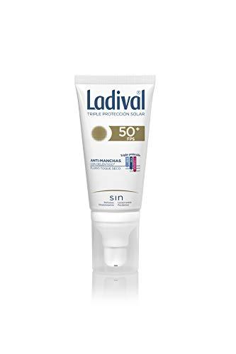 Ladival Crema solar facialacción anti-manchas con deléntig