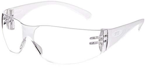 3M Virtua Slim Fit Occhiali di protezione con lenti trasparenti, antigraffio e anti-appannamento,...