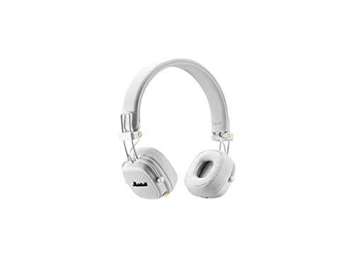 Marshall Major II Bluetooth Diadema Biauricular Alámbrico/Inalámbrico Blanco auricular para móvil...