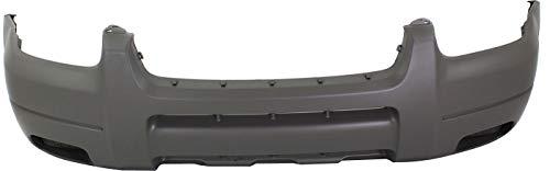 Front Bumper Cover Compatible with 2001-2004 Ford Escape Textured Titanium XLS/XLT Models