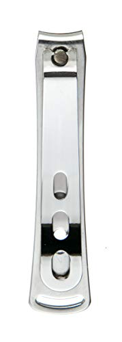 Seki Edge All Stainless Steel Nail Clippers (SS-111) - Medical Grade Professional Fingernail Clippers, Cutter, Trimmer - Manicure Nail Care Tool for Men & Women - Made in Japan