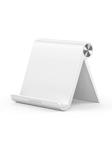 UGREEN スマホスタンド 携帯電話スタンド 卓上 iPhone 12/mini/Pro/ProMax スタンド 折りたたみ式 角度調整...