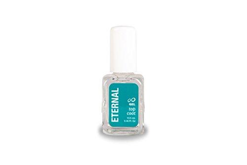Eternal Top Coat Gel – Mirror Shine Strength No UV Lamp Nail Polish – 1 Unit