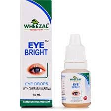 Wheezal Eye Bright Eye Drop (PACK OF 3) BY JHC