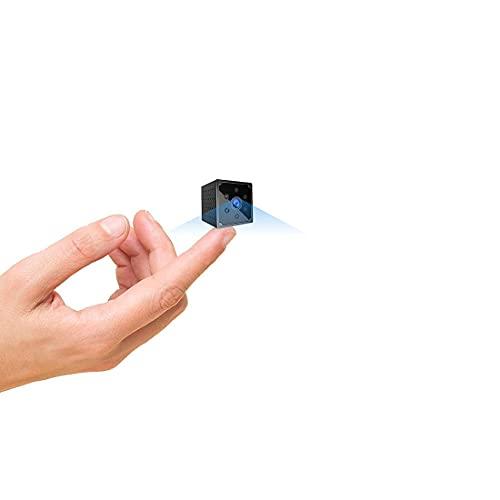 Telecamera Nascosta,AOBO 4K HD Mini Telecamera Spia Wifi Portatile Microcamera con Visione Notturna Piccole Videocamera di Sorveglianza Senza Fili