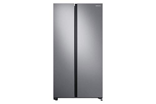 Samsung 700 L Inverter Frost-Free Side-by-Side Refrigerator (RS72R5011SL/TL, EZ Clean Steel)