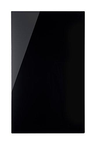 Bi-Office GL160201 Lavagna Magnetica in Vetro, 78 x 48 cm, Nero