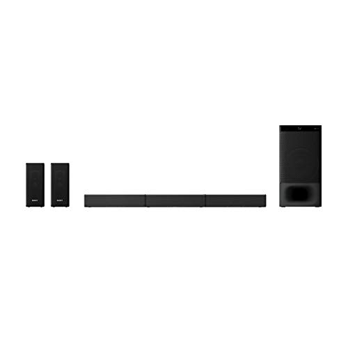 Sony HT-S500RF Real 5.1ch Dolby Audio Soundbar for TV with Rear Speakers & Subwoofer, 5.1ch Home Theatre System(1000W, Bluetooth Connectivity,HDMI & Optical Connectitvity, USB Playback)