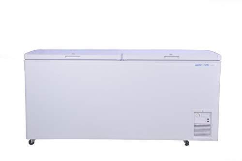 Voltas 405 DD CF Double Door Deep Freezer, 405 Liters, White